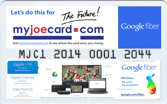 Google Fiber Lake of the Ozarks - MyJoeCard