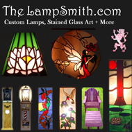 Custom Lamps & Stained Glass Art from Osage County, OK by Dennis Carriger.